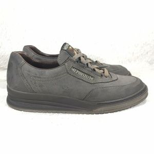 Mephisto Shoes - Mephisto Leather Lace Up Casual Size 8.5